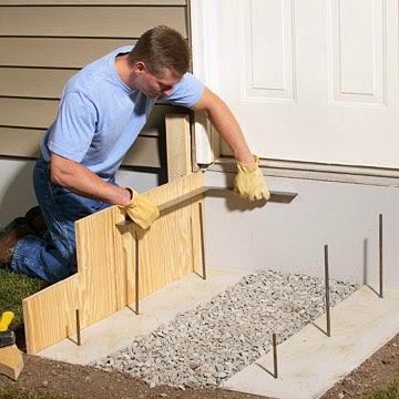 Build Concrete Steps Step By Step Guide