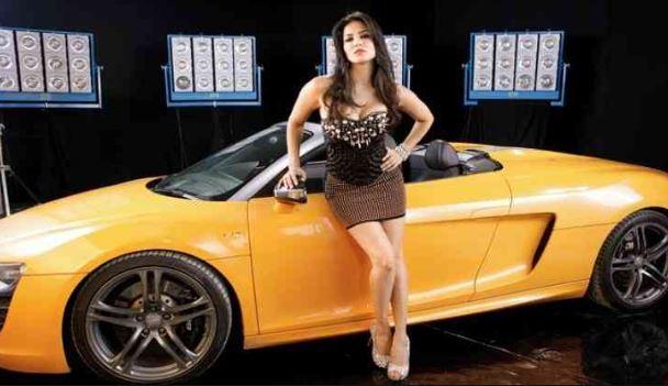 sunny leone car collection