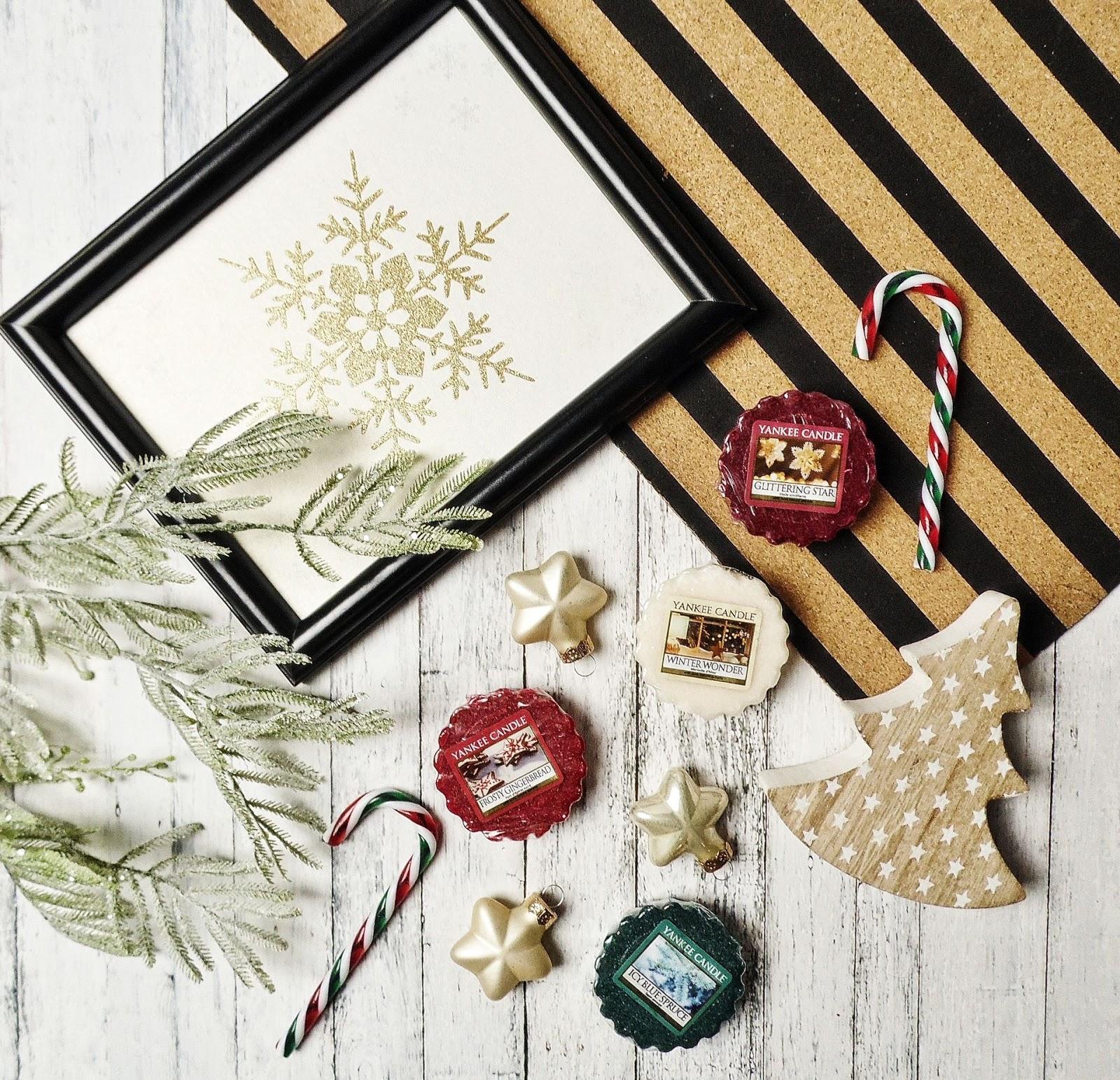 Yankee Candle Holiday Sparkle -świąteczne woski z kolekcji Q4