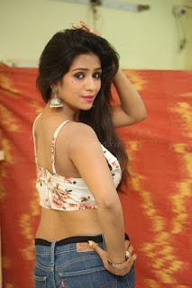 Deekshita Parvathi in a short crop top and Denim Jeans Spicy Pics Beautiful Actress Deekshita Parvathi January 2017 CelebxNext (55).JPG