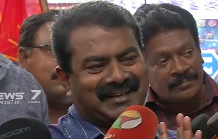 We will  Compete in the RK Nagar by-election: Seeman