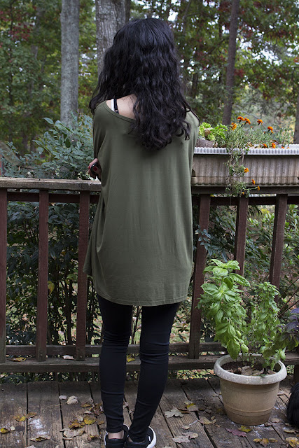 olive piko tunic perforated leather vans topshop moto leigh