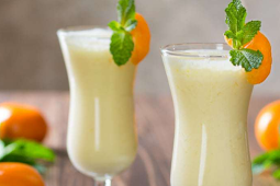 Pineapple Orange Smoothie  #cocktail #smoothie