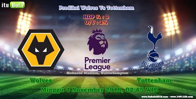 Prediksi Wolves Vs Tottenham  - ituBola