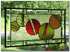 Stained GLASS WINDOW Pain