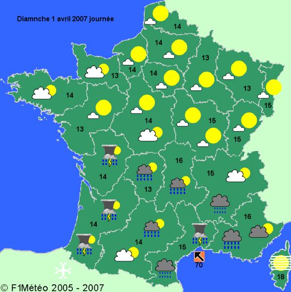 Notre sixième année de français: La météo