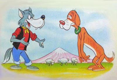fabula el lobo y el perro flaco