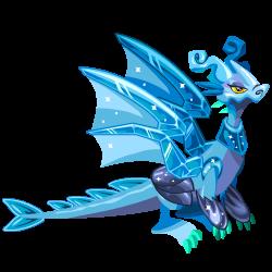 dragón cristal legendario