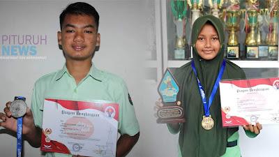 Dua Pelajar Atlet Pesilat Kecamatan Pituruh Berjaya di Kancah Nasional