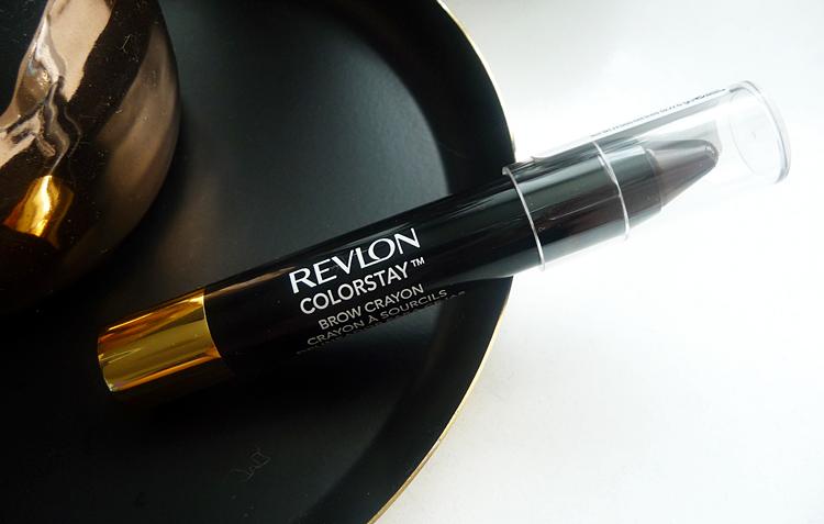 Revlon Mega Multiplier Mascara & revlon ColorStay Brow Crayon
