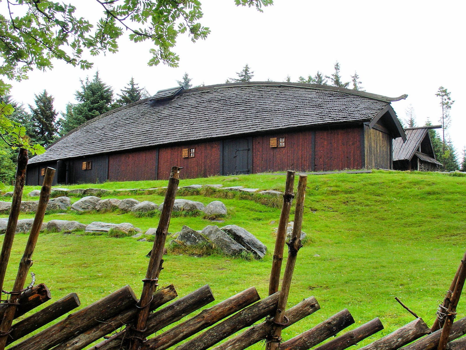 We explored this replica of an ancient Viking settlement at the Norwegian History Center in Avaldsnes, near Haugesund.