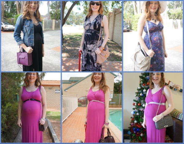 AwayFromTheBlue | Maxi Dresses in the Second Trimester Outfit Inspiration