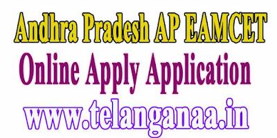 Andhra Pradesh AP EAMCET APEAMCET 2018 Online Apply Application