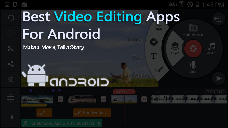 Top 10 video edit app for android
