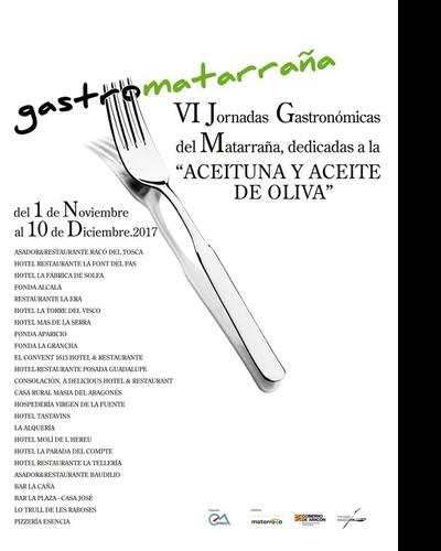 VI Jornadas Gastronómicas del Matarraña