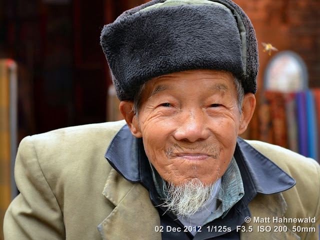 people, Chinese people, Chinese man, portrait, street portrait, headshot, South China, Guangxi province, Xingping, close up