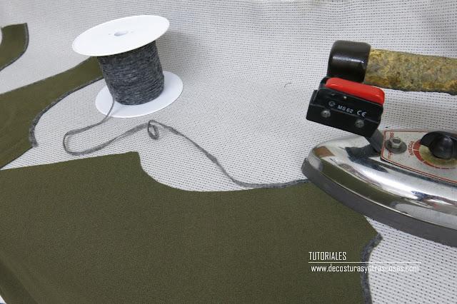 para que sirve la ligueta termoadhesiva o fliselina