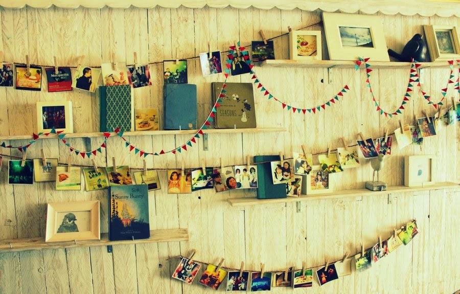 pared con recuerdos