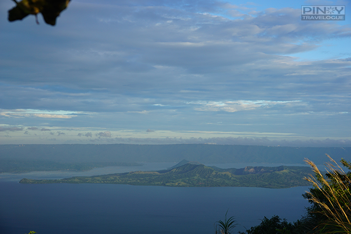 Taal Volcano Island, a view from Maculot Rockies