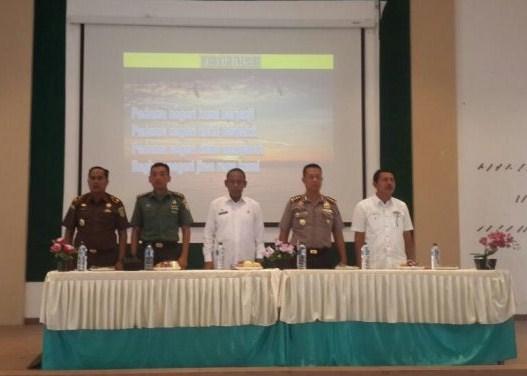 Sosialisasi Nota Kesepahaman Pengawasan dan Pengelolaan Keuangan Dana Desa Kabupaten Aceh Besar