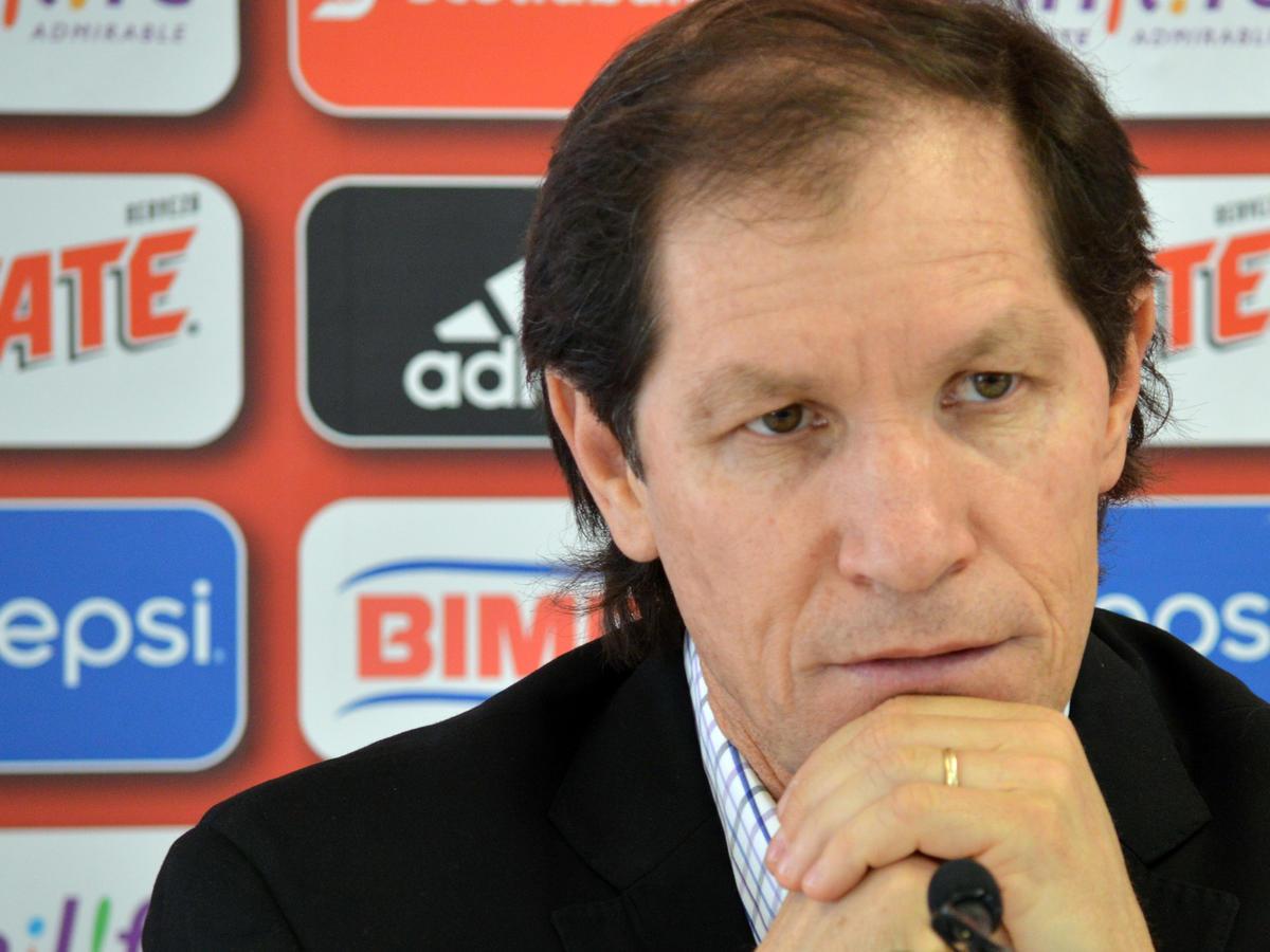 Jaime Ordiales, durante conferencia de prensa.