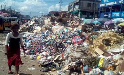 The Refuse Dump Along Douglas Road, Owerri, Imo State