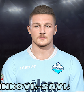 PES 2018 Faces Sergej Milinković-Savić by Prince Hamiz