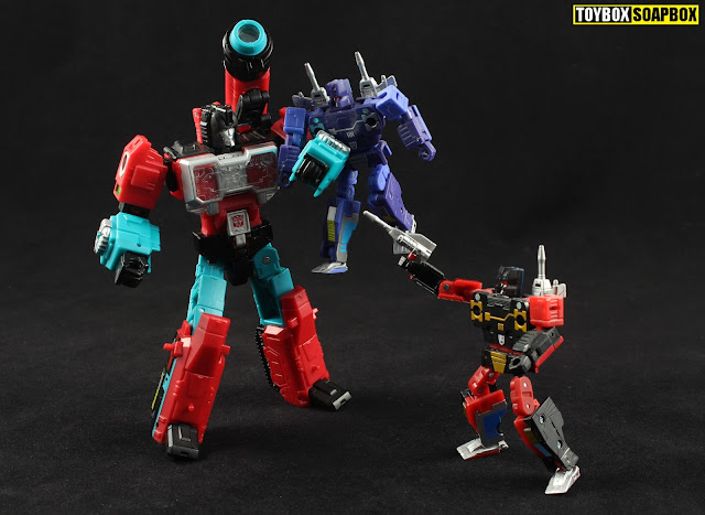 masterpiece rumble and frenzy vs titans return perceptor