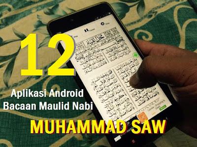 12 Aplikasi Android Bacaan Maulid Nabi Muhammad SAW