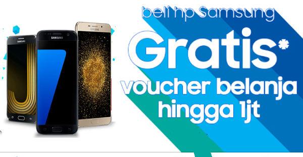 Beli HP Samsung Di Alfacart Dapat Voucher Belanja 1 Juta, Mau?