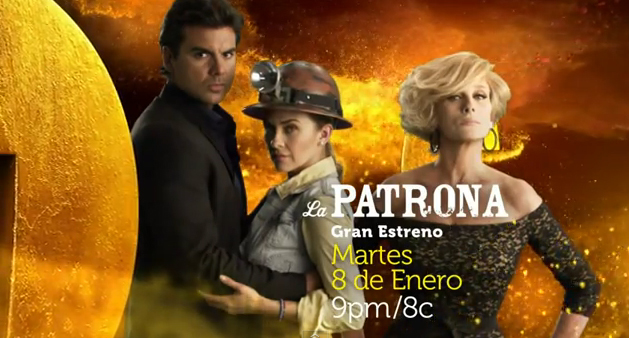 Novela Channel La Patrona Promos 9 10 11 12