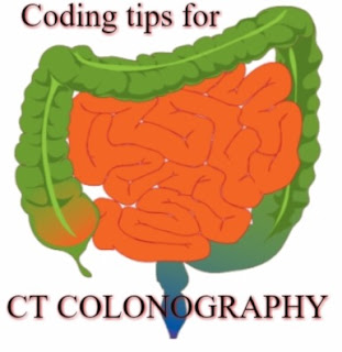 CT colonography CPT code 74261, 74262 and 74263