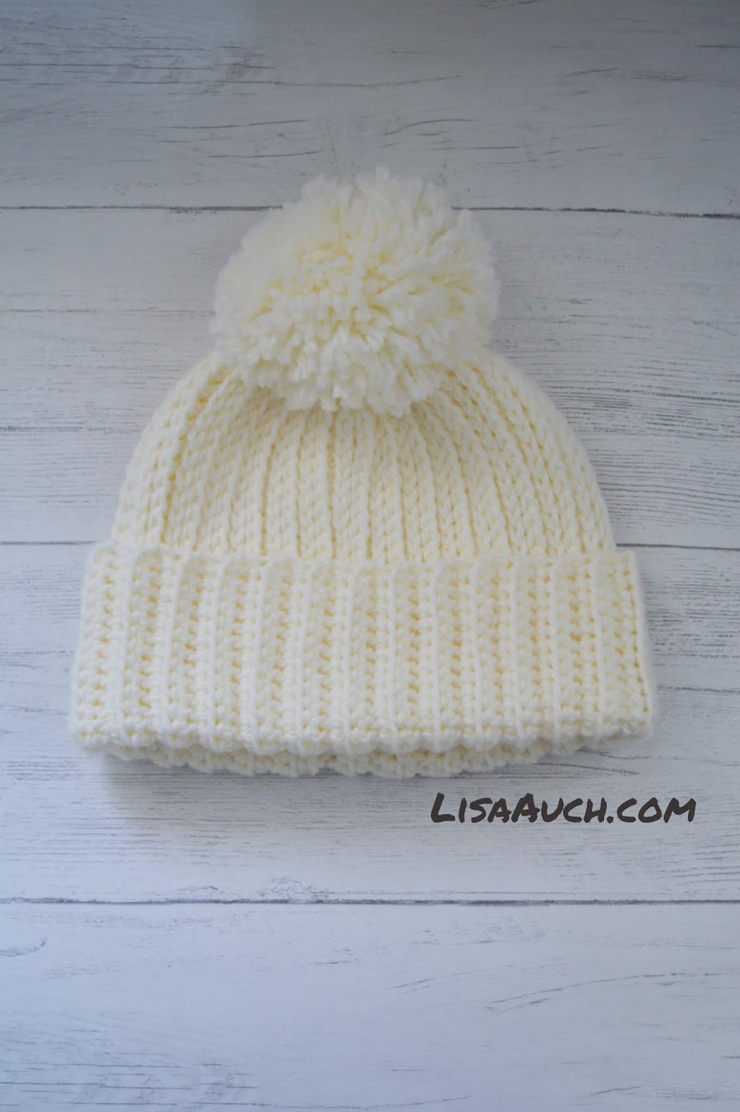 Looks Like Knit But Its Crochet Warm Cosy Winter Hat Free Pattern