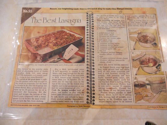 A Classic Lasagna Recipe