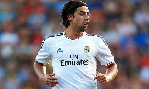 Sami Khedira đang khoác áo Real Madrid