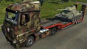 Army Mercedes MP4