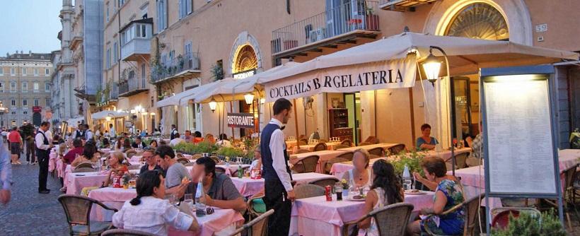Piazza navona em roma dicas da it lia - Pizzeria con giardino roma ...