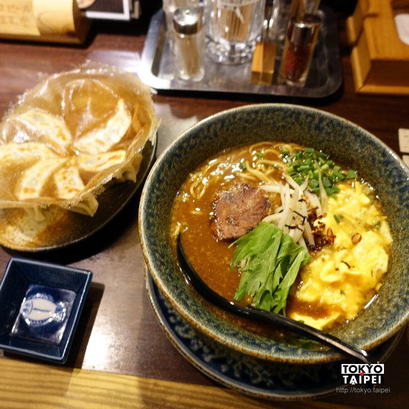 【一粒庵】味噌湯底拉麵加上滑蛋和厚片肉 獲米其林青睞的非典型拉麵