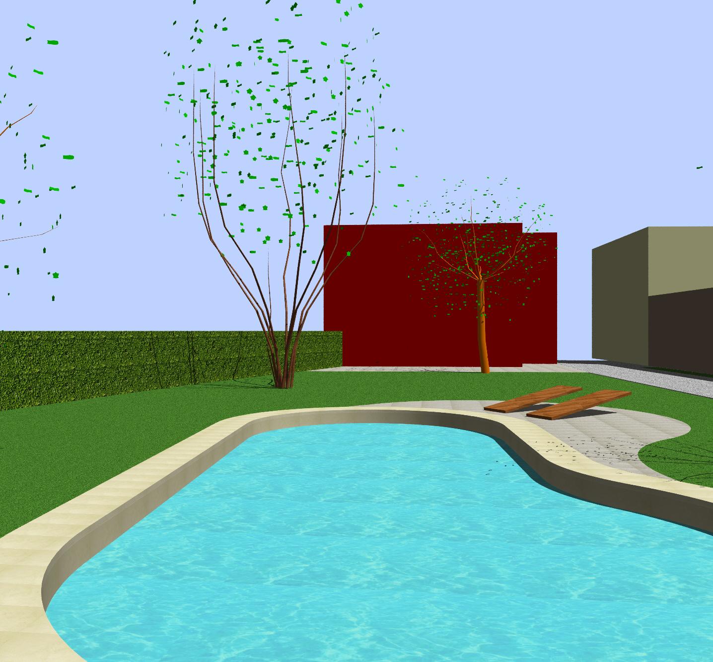 Piscina Su Terreno In Pendenza progetto per piscina privata