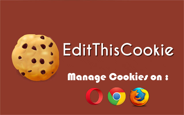 Manage Web Cookies of Google Chrome & FireFox & Opera