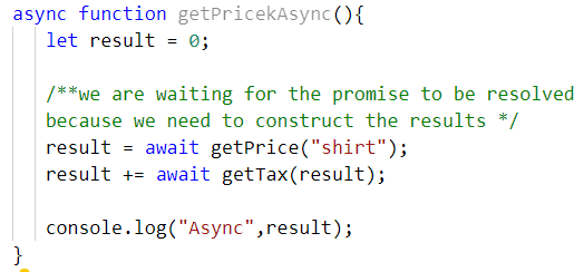 Refactor Promises Functions into Async Await Functions ~ Ozkary