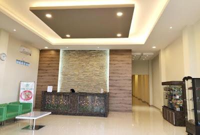 Kondisi Lobby Hotel Tirta Asri 1