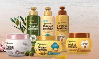 Prueba la mascarilla para el pelo de Garnier Original Remedies