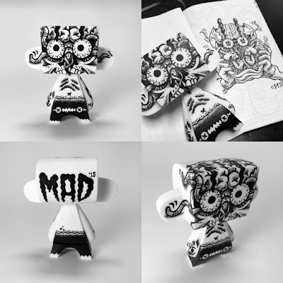 """Skull Pop"" Custom 5"" MAD*L by MAD"