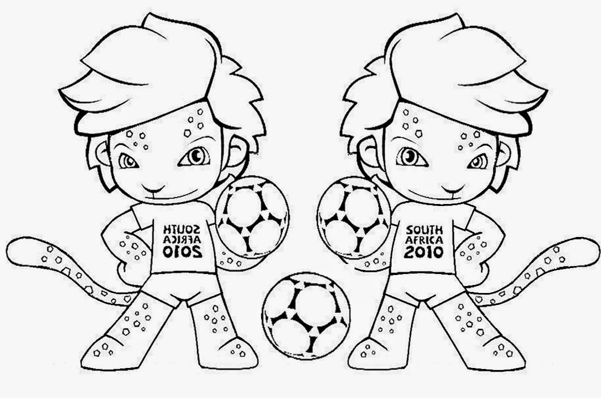 Desenhos De Animais Para Colorir Colorir: Futebol - Desenhos Para Colorir - Colorir