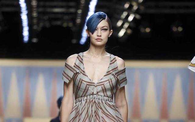 Fendi Ready-to-wear Spring Summer 2018 Milan Fashion Week
