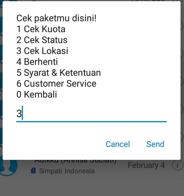 Maktabah Imu Cara Agar Paket Internet Kuota Lokal Indosat Im3 Ooredoo Dapat Digunakan