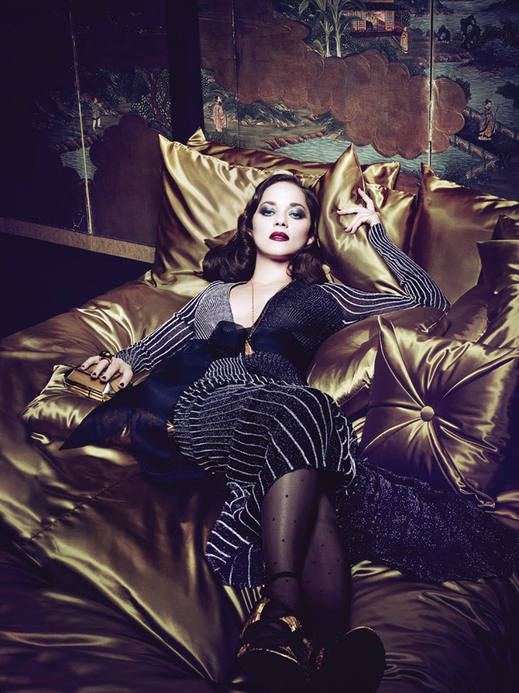 Marion Cotillard by Craig McDean for Interview March 2014 | Ses Rêveries