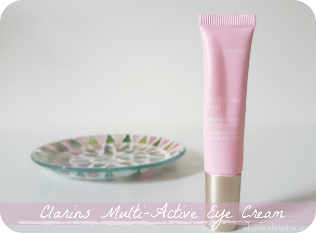 clarins multi active eye cream review