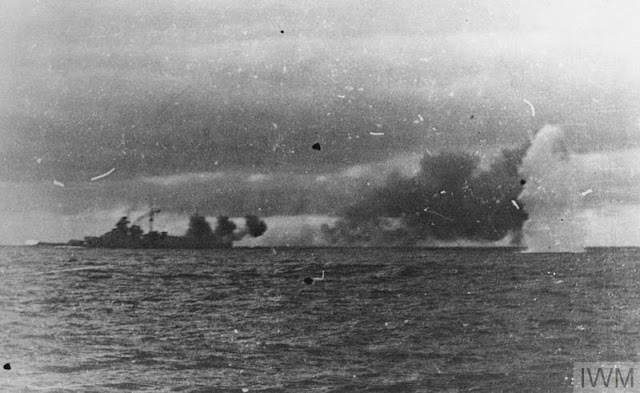 HMS Hood Battle of Denmark Strait 24 May 1941 worldwartwo.filminspector.com